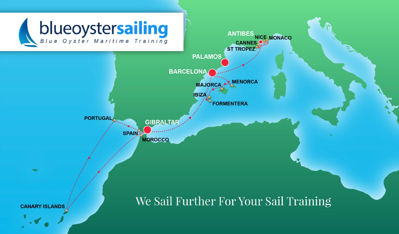 Blue Oyster Map Image